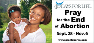 Pro life Berks - 40 days for life outlines
